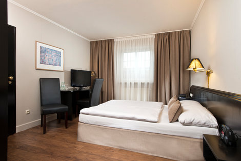 Doppelzimmer guest rooms TRYP by Wyndham Munich North Hotel Bavaria | © TRYP by Wyndham Munich North